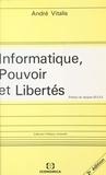 André Vitalis - Informatique, pouvoir et libertés.