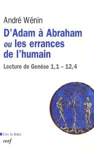 DAdam à Abraham ou les errances de lhumain - Lecture de Genèse 1,1-12,4.pdf
