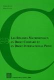 Andrea Bonomi et Marco Steiner - Les régimes matrimoniaux en Droit comparé et en Droit international privé - Actes du Colloque de Lausanne du 30 septembre 2005.