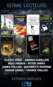 Andrea Camilleri et Claude Izner - Extraits gratuits  : Serial lecteurs - 2013 - Extraits gratuits.