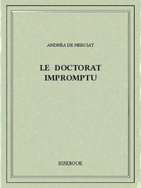 Andréa de Nerciat - Le doctorat impromptu.
