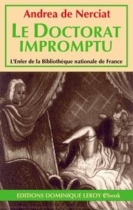 Andréa de Nerciat et Zyg Brunner - Le Doctorat impromptu.