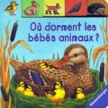 Andrea Erne et Anne Ebert - Où dorment les bébés animaux ?.