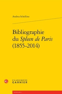 Birrascarampola.it Bibliographie du Spleen de Paris (1855-2014) Image
