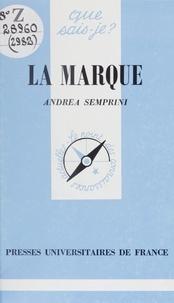 Andréa Semprini et Paul Angoulvent - La marque.