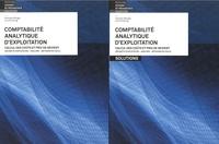 Andreas Winiger et Urs Prochinig - Comptabilité analytique d'exploitation. Livre et solutions - Pack en volumes.