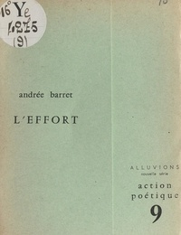 Andrée Barret - L'effort.