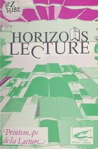 Andrée Collot et Bernard Demandre - Horizons lecture.