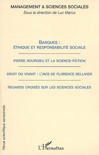 Andrée de Serres et Michel Roux - Management & sciences sociales N° 2/2006 : Banques : éthique et responsabilité sociale.