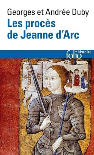Les procès de Jeanne d'Arc