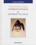 Andrée Houmard - Thérapeutique homéopathique en dermatologie.