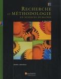 Andrée Lamoureux - Recherche et méthodologie en sciences humaines.