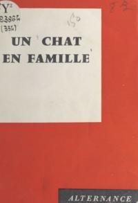 Andrée Ruffier - Un chat en famille.