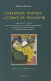 """Andreia Roman - Littérature roumaine - Tome 2, De l'époque des """"grands classiques"""" à la Première Guerre mondiale, édition bilingue français-roumain."""