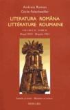 Andreia Roman et Cécile Folschweiller - Littérature roumaine - Tome 4, Depuis 1945, édition bilingue français-roumain.