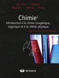 Andrew Burrows et John Holman - Chimie 3 - Introduction à la chimie inorganique, organique et à la chimie physique.