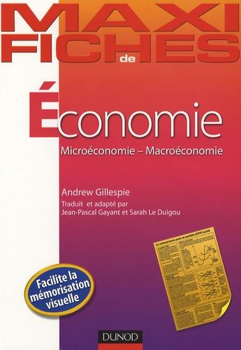 Andrew Gillespie - Economie - Microéconomie-Macroéconomie.
