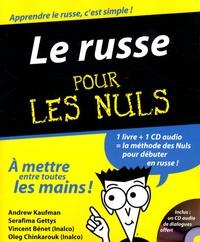 Andrew Kaufman - Le russe pour les Nuls. 1 CD audio