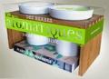 Andrew Mikolajski - Des herbes aromatiques dans ma cuisine - Coffret 1 livre + 2 pots en porcelaine + 1 paire de ciseuax + 1 sachet de graines.