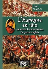 Galabria.be L'Espagne en 1810 - Souvenirs d'un prisonnier de guerre anglais Image