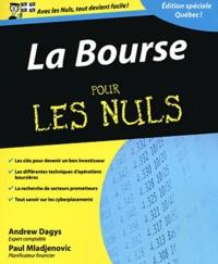 Andrews - Bourse pour les nuls - Edition québécoise.