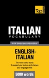 Andrey Taranov - Italian vocabulary for English speakers - 5000 words.