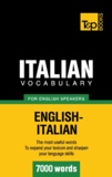 Andrey Taranov - Italian vocabulary for English speakers - 7000 words.