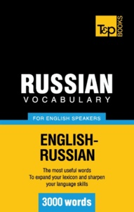Andrey Taranov - Russian vocabulary for English speakers - 3000 words.