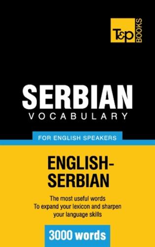 Andrey Taranov - Serbian vocabulary for English speakers - 3000 words.