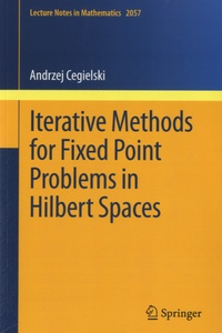 Histoiresdenlire.be Iterative Methods for Fixed Point Problems in Hilbert Spaces Image