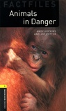 Andy Hopkins et Joc Potter - Animals in Danger - Stage 1. With Audio Download.