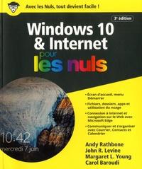 Andy Rathbone et John R. Levine - Windows 10 et Internet pour les nuls.