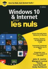 Andy Rathbone et John Levine - Windows 10 et Internet pour les nuls.