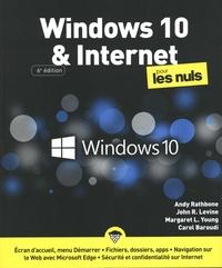 Andy Rathbone et John R.LEVINE - Windows 10 et internet pour les nuls.