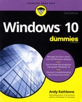 Andy Rathbone - Windows 10 For Dummies.