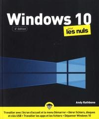 Andy Rathbone - Windows 10 pour les nuls.