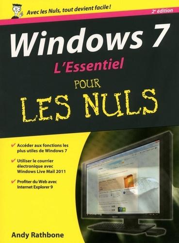 Windows 7 L'essentiel pour les Nuls 2e édition