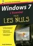 Andy Rathbone - Windows 7 L'essentiel pour les Nuls.