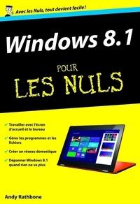 Andy Rathbone - Windows 8.1 pour les nuls - Nouvelle édition.
