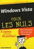 Andy Rathbone - Windows Vista pour les Nuls.