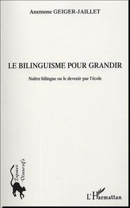 Histoiresdenlire.be Le bilinguisme pour grandir - Naître bilingue ou le devenir par l'école Image
