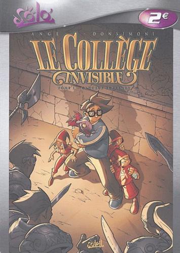 Ange et  Donsimoni - Le Collège invisible Tome 1 : Cancrus Supremus.