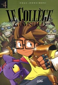 Ange - Le Collège invisible  : Tome 4, Duelum magickum ; Tome 5, Gestus collegiem ; Tome 6, Galactus destructor ; Tome 7, Retournum à la terrum.