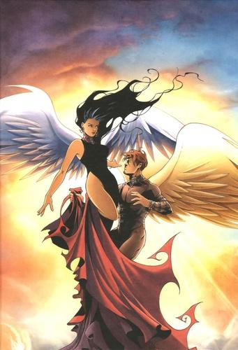 Ange et  Xavier - Paradis Perdu Tome 4 : Terres - Version collector spéciale en coffret.