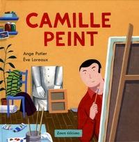 Ange Potier et Eve Loreaux - Camille peint.