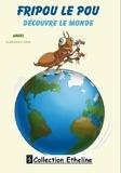 Angel - Fripou le pou découvre le monde - Conte illustré bilingue pour enfants.
