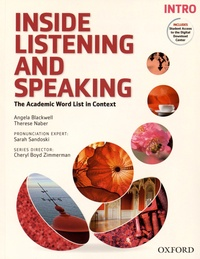 Angela Blackwell et Therese Naber - Inside Listening and Speaking - The Academic Word List in Context - Intro.