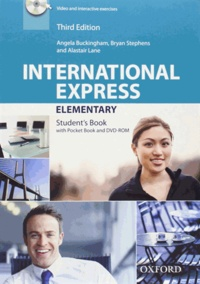 Angela Buckingham et Bryan Stephens - International Express Elementary - Student's Book. 1 DVD