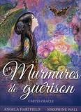 Angela Hartfield et Josephine Wall - Murmures de guérison - Avec 50 cartes oracle.