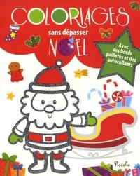 Angela Sbandelli - Coloriage sans dépasser Noël.